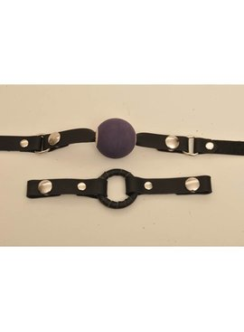 RAPTURE LEATHER Ball Gag Set