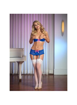 L Boxed Exposed Blue Open-Cup 3-Piece Set