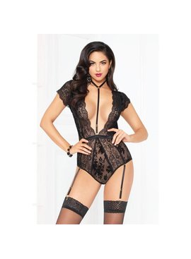 L Floor Teddy Flocked Mesh Teddy