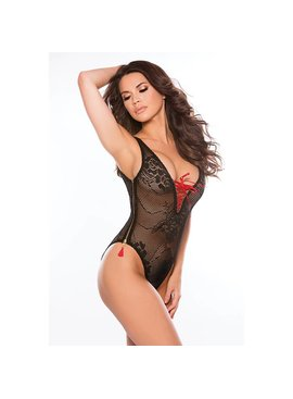 L Boxed Allure Side-Zip Teddy