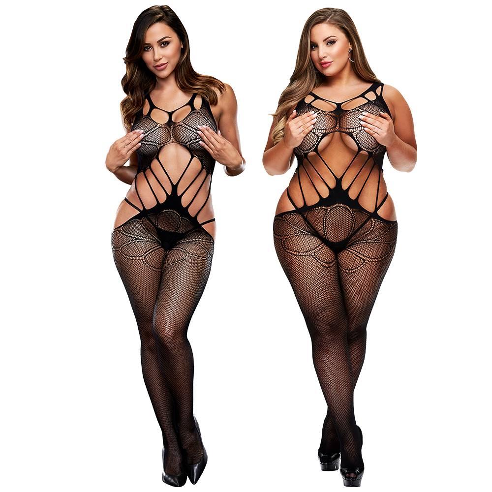 L Body Stockings Double Entendre Bodystocking