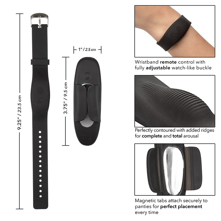 Web Only Product Remote Wristband Panty Teaser