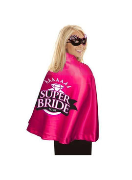 Little Genie Super Bride Cape & Mask Set