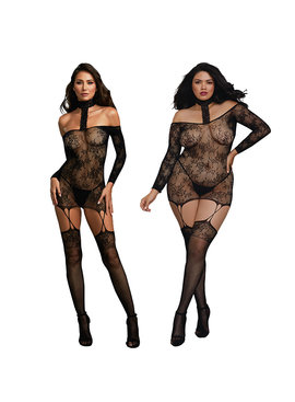 Dreamgirl Lingerie Reversible Bodystocking