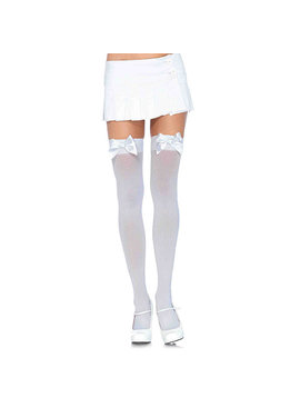 Leg Avenue Lingerie Opaque Thigh High with Bow
