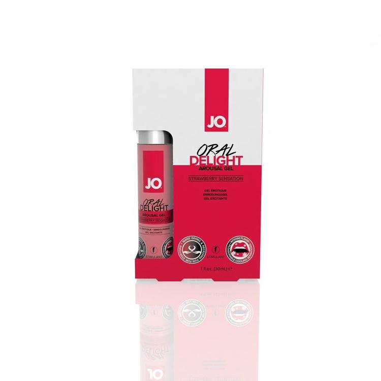 System Jo Oral Delights Stimulant - Strawberry