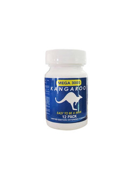 Kangaroo Pills Kangaroo Mega 3000 Supplement - For Him ( 12 Pack)