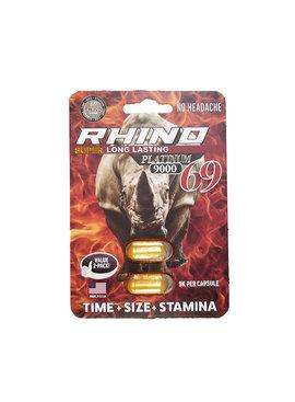 Rhino Pills Rhino 69 Platinum - 2 Pack