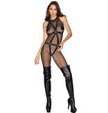 Dreamgirl Lingerie Harness Bodystocking