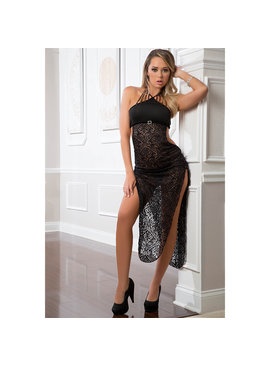 G World Lingerie Long Lace Dress