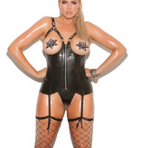 Luxurious Leather Bustier