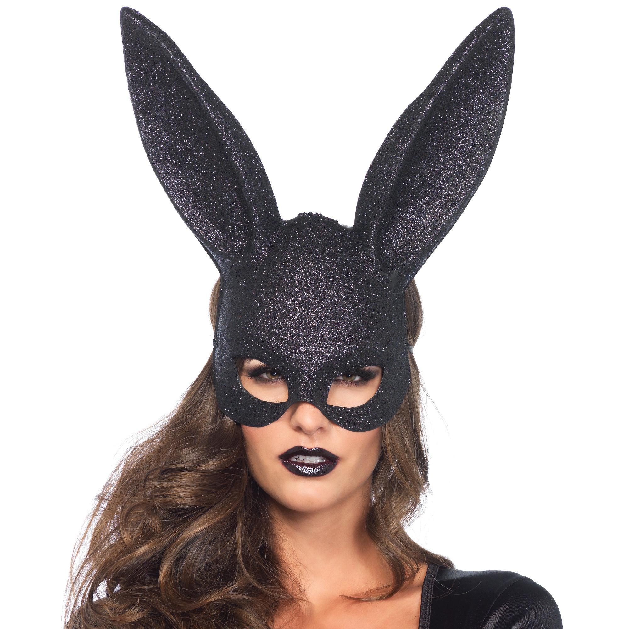 Glitter Rabbit Mask