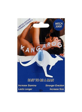 Kangaroo Pills Kangaroo Mega 3000 Supplement - For Him (Single Pack)