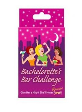 Bachelorette Bachelorette's Bar Challenge Game
