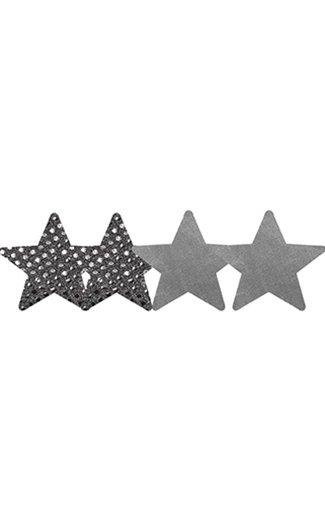L Pasties Dark Angel Stars