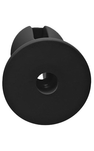 "Doc Kink KINK - Wet Works - Lube Luge - Premium Silicone Plug - 5"" - Black"