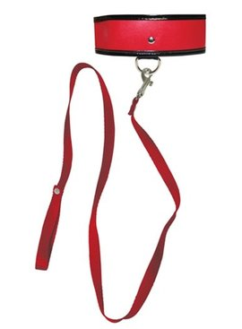 1 Sex and Mischief Red Leash and Collar
