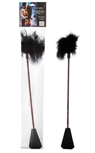 Cal Exotics Scandal Feather Crop