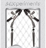 Sex & Mischief Silver Spears Nipple Clips