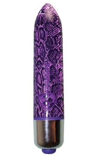 Rocks Off RO-80mm Purple Python Bullet