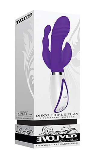 Evolved Disco Triple Play Vibrator