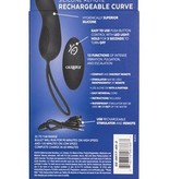 Cal Exotics Silicone Remote Rechargeable Curve