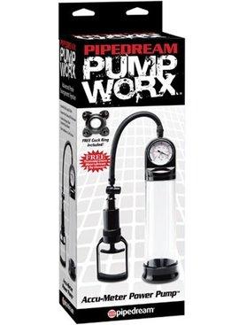 Pipedream Products Pump Worx Accu-Meter Power Pump