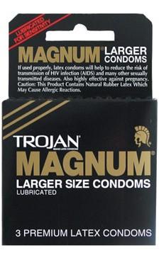 Trojan Condoms Trojan Magnum LRG Condoms