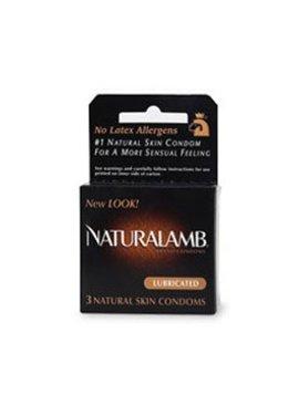 Trojan Naturlamb Condom 3Pk