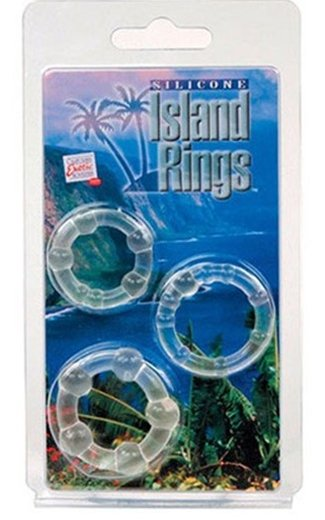 Cal Exotics Silicone Island Rings