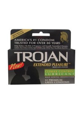 Trojan Condoms Trojan Extended Pleasure Condom 12pk
