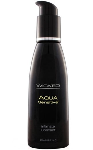 Wicked Aqua Water-Based Sensitive Lubricant