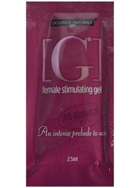G Stimulants [G] Female Stimulating Gel Travel Size