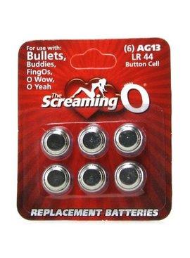 Batteries Screaming O AG13 LR44 Batteries
