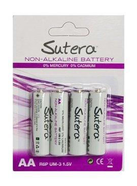 Batteries Sutera Non-Alkaline AA Batteries