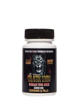 Black Lion Pills Black Lion Supplement - For Him  (12 Pack)