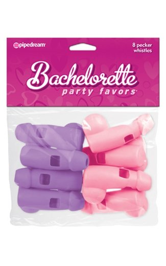 Pipedream Products Bachelorette Party Favors Pecker Whistles