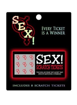 Bachelorette Sex! Scratch Tickets