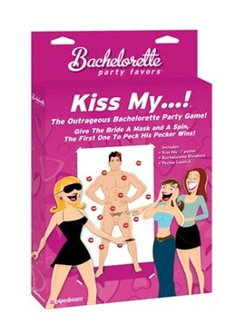 Bachelorette Bachelorette Party Favors Kiss My...!