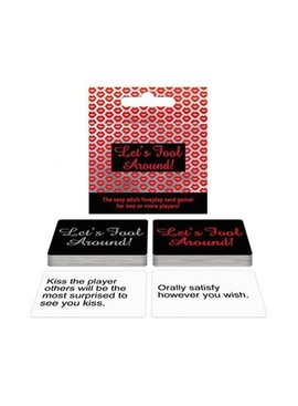 Bachelorette Let's Fool Around Card Game