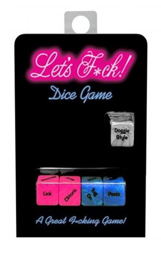 Bachelorette Lets F*ck Dice Game