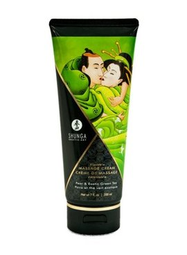 Shunga Shunga Massage Cream - Pear and Exotic Green Tea