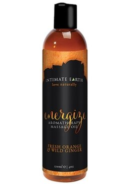 Intimate Earth Energize Massage Oil