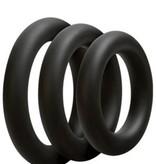 Doc Johnson OptiMALE 3 C-Ring Set Thick - Slate