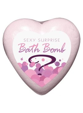 Bachelorette Heart Bath Bomb (with a surprise!)