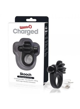 Screaming O Screaming O Charged Skooch Ring (black)
