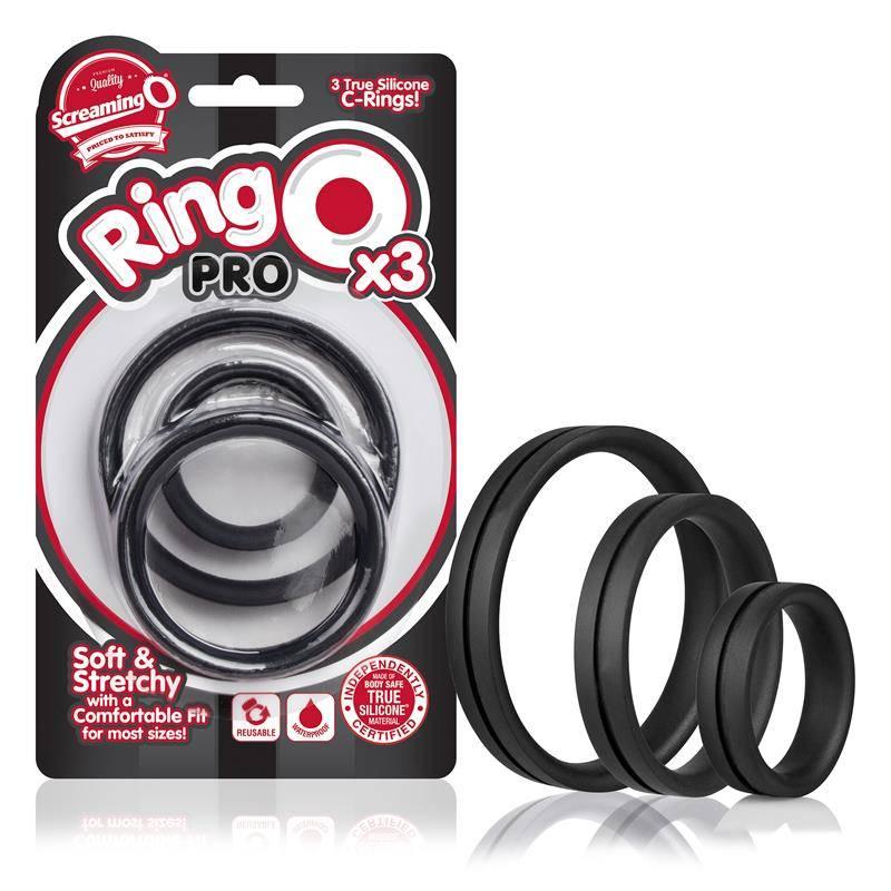 Screaming O Screaming O Ringo Pro X3 (black)