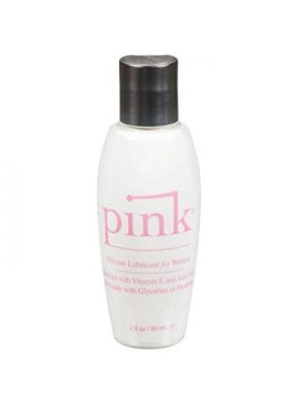 Pink Lube Pink Silicone Lube 2.8 oz