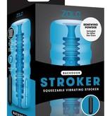 Zolo Backdoor Squeezable Vibrating Stroker by Zolo