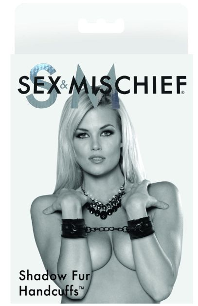 Sex & Mischief SM SHADOW FUR HANDCUFFS